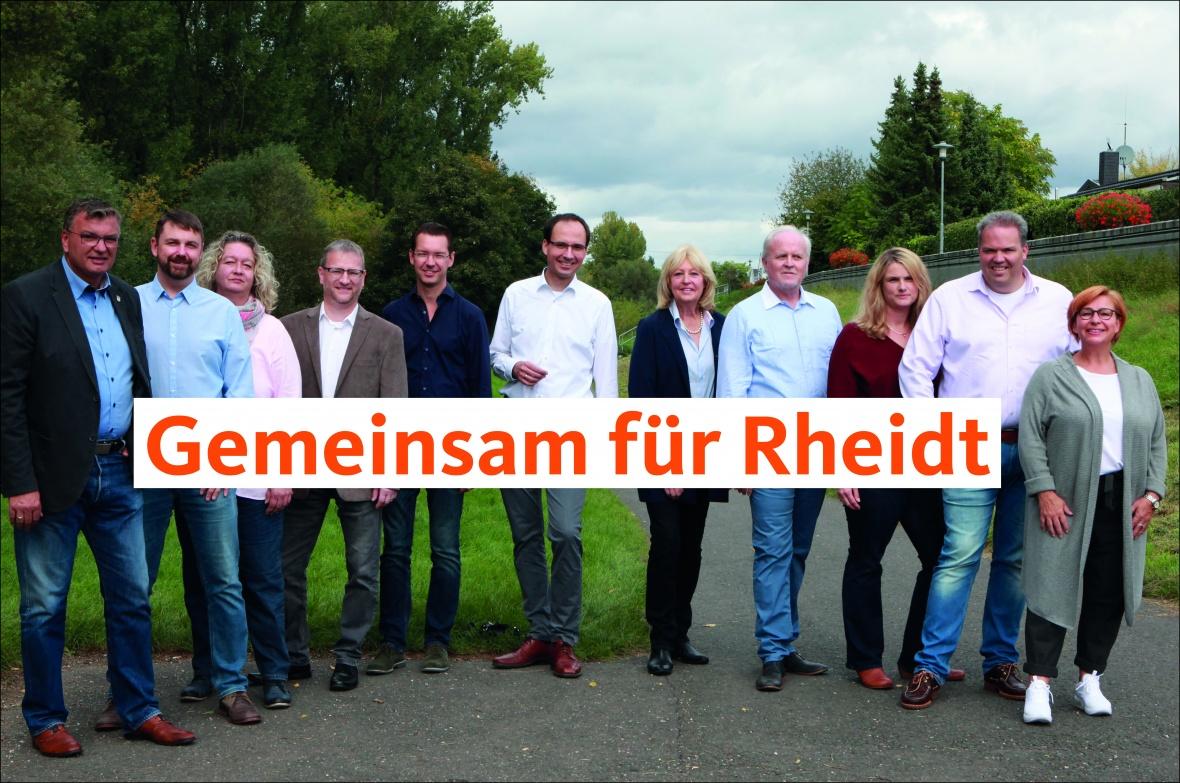 Unser Team für Rheidt