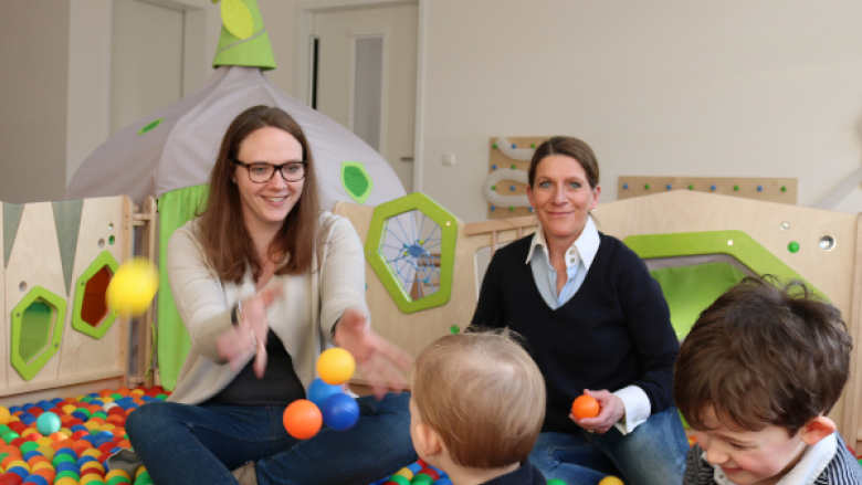 Katharina Gebauer besuchte Kita Käthe-Kollwitz-Straße