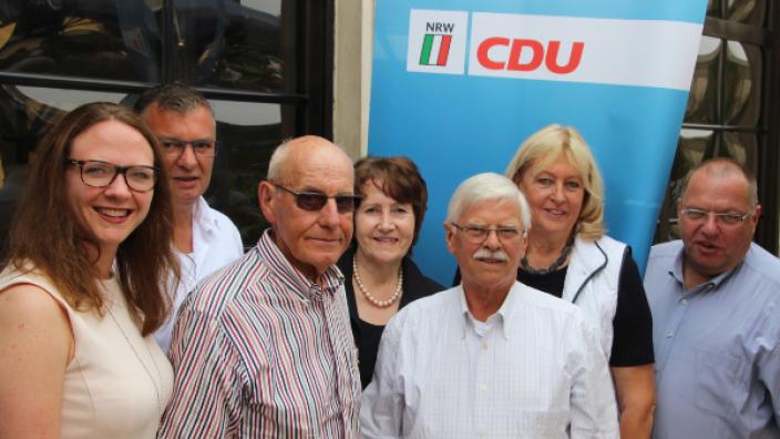 CDU ehrte langjährige Mitglieder