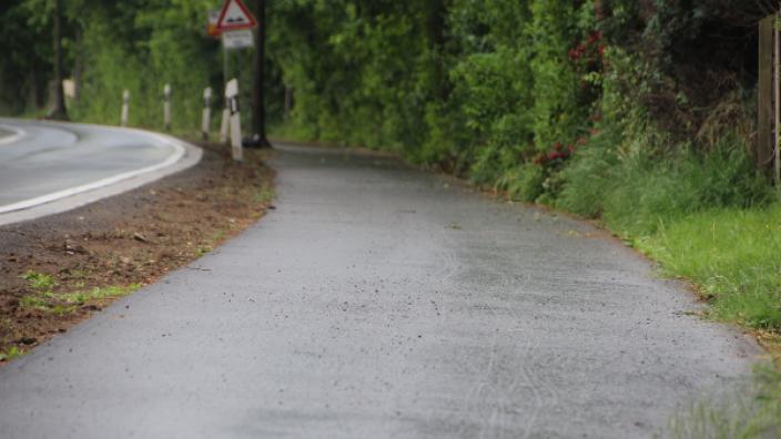 CDU freut sich über sanierten Radweg
