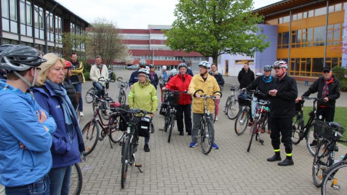 CDU-Radtour im Norden Niederkassels