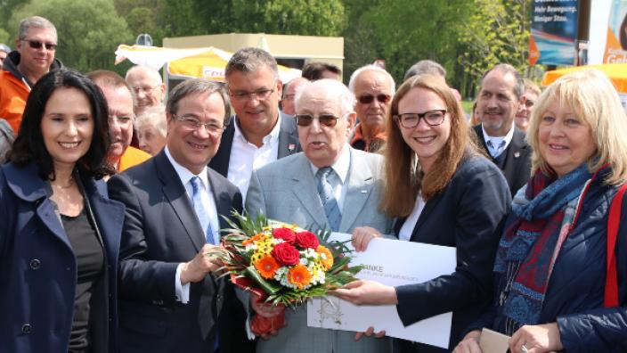 Ingo Leser - 65 Jahre Mitgliedschaft in der CDU