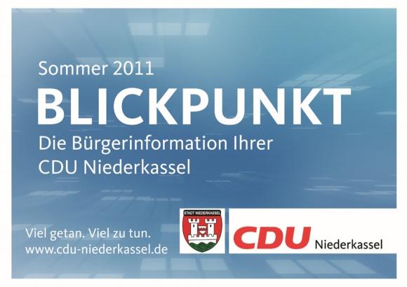 Blickpunkt-Ausgabe Sommer 2011