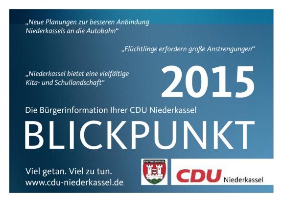 Blickpunkt-Ausgabe 2015