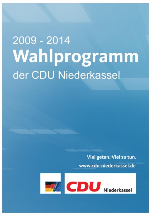 Das Wahlprogramm 2009 bis 2014