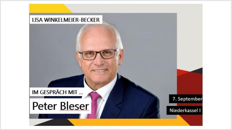 Lisa Winkelmeier-Becker lädt ein